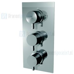 Ritmonio onderdelen inbouwthermostaat met stopkraan en omstel E0BA0146