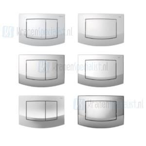 TECE onderdelen TECEambia wc-bedieningsplaat voor duo / enkel spoeltechniek