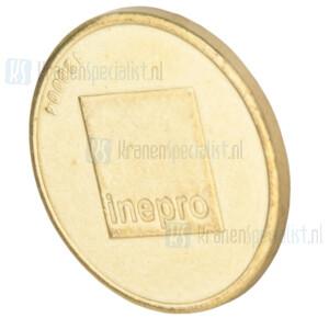 Inepro standaard 27 mm munt tbv PAYMATIC AD2400 (zak 100 stuks)