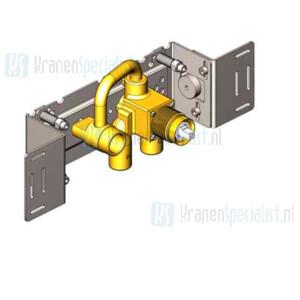 Vola Onderdelen Inbouwdeel Type 2100X Monoknop inbouwmengkraan met vast aansluithuis Links