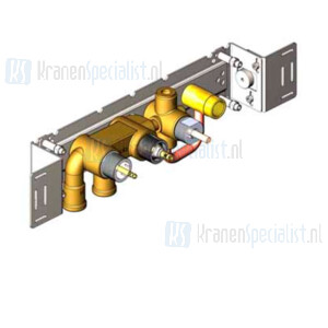 Vola Onderdelen Badthermostaat Type 5400NV Inbouwthermostaat met 3/4 aansluiting met omstel