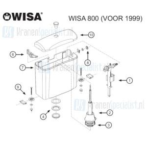 Wisa Onderdelen Wisa 800 Voor 1999 W8000000