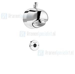 FM Mattsson Tronic Compact hoofddouche met losse sensorbediening voor mengventiel (batterij Voeding) chroom