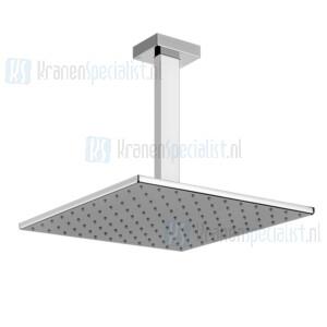 Gessi Rettangolo Bagno Hoofddouche 300x300 met plafond aansluiting 27cm Chroom