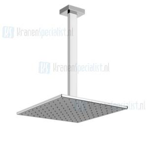 Gessi Rettangolo Bagno Hoofddouche 300x300 met plafond aansluiting (maatwerk 115-1865mm) Chroom