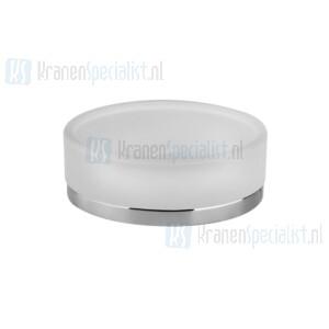 Gessi Emporio Accessories Zeephouder staand met gesatineerd glas. Chroom Artikelnummer 38827.031