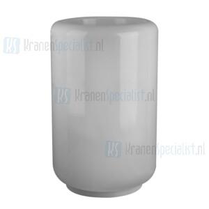 Gessi Goccia Sanitari Wastafel voor staande vloermontage met muuruitlaat wit GRES ?540 mm hoogte 880 mm. Gres Artikelnummer 39111.519
