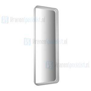 Gessi Goccia Complementi Spiegel rechthoek met witte omlijsting voor staande vloermontage 600x1800x100 mm. Structural Artikelnummer 39151.520