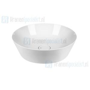 Gessi Cono Sanitari Opbouw waskom in Wit Europees Keramiek zonder overflow keramiek plug inbegrepen. White Europe Ceramic Artikelnummer 45901.516