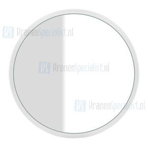 Gessi Cono Complementi Spiegel met wit frame muurmontage ?700 mm. Structural Artikelnummer 45921.520