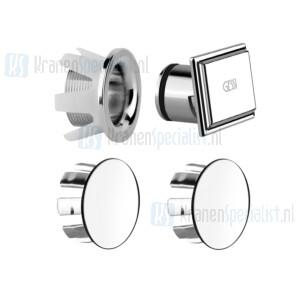 Gessi Technical Accessories Afdekkappen voor art 46755. Chroom Artikelnummer 46765.031