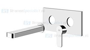 Gessi Corso Venezia Partes externas para mezclador monomando de lavabo para empotrar con ca?o sin desag?e. Chroom Artikelnummer 47188.031
