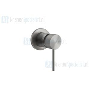Gessi Meccanica Afbouwdeel voor eengreeps inbouw bad/douchemengkraan 1/2 zonder uitloop en omstel.35 mm cartouche. Geborsteld Koper Artikelnummer 54219.708