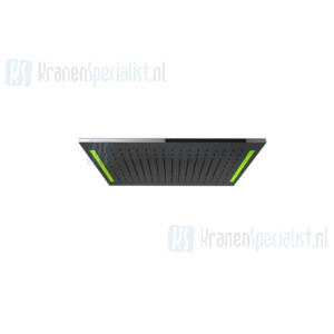 Gessi Colour 2017 Afdek kap met verlichtingssysteem voor douchesysteem 300X500 Brons Artikelnummer 57881.187