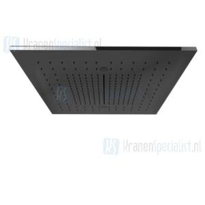 Gessi Minimali 2017 500X500 multifunctioneel systeem voor vals plafondmontage. Met RAINFALL / WATERFALL / MIST-functie. Te completeren met omslag 57016 Mirror Steel Artikelnummer 57907.238