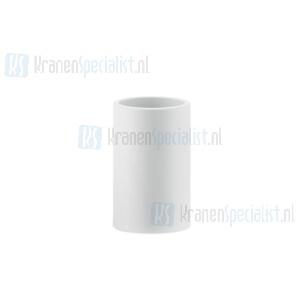 Gessi Rilievo Accessories Glashouder wit staand. Chroom Artikelnummer 59531.031