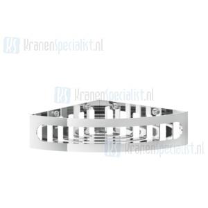 Gessi Rilievo Accessories Hoekplanchet draadmodel voor bad/douche. Geborsteld Koper Artikelnummer 59561.708