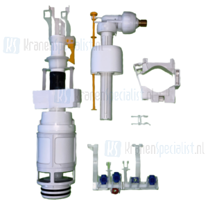 Oliver International revisieset tbv Giada (nieuw) dual flush inbouwreservoir