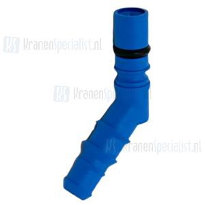 Reich Slangtule blauw met o-ring