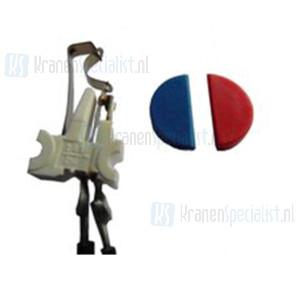 Reich Microschakelaar + dopje rood/blauw Voor Keramik Mono - Deluxe en Style 2000