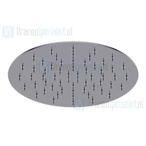 Ritmonio Diametro35 INOX Ultra dunne hoofddouche met antikalk 200mm Gepolijst Staal