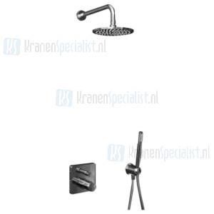 Ideal Standard Idealrain Showerpower set Idealrain / Ceratherm 200 inbouwthermostaat met omstelling, inclusief EASY-Box inbouwdeel Chroom