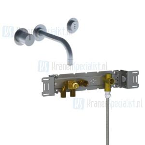 Vola onderdelen 4000 serie inbouw wastafelkraan met elektronische bediening oud 4000-4100
