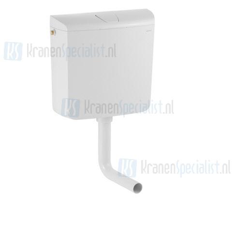 Geberit AP120 laaghangend reservoir spoel/stop bediening