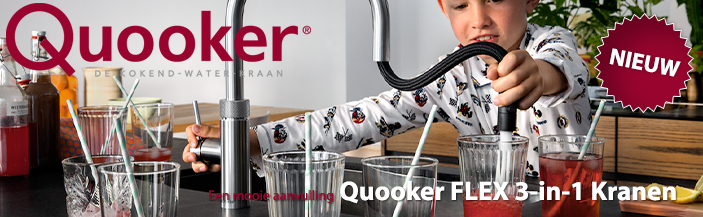 Nieuw Quooker fusion FLEX