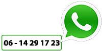 WhatsApp-nummer van het KranenSpecialist.nl is 06 - 14 29 17 23